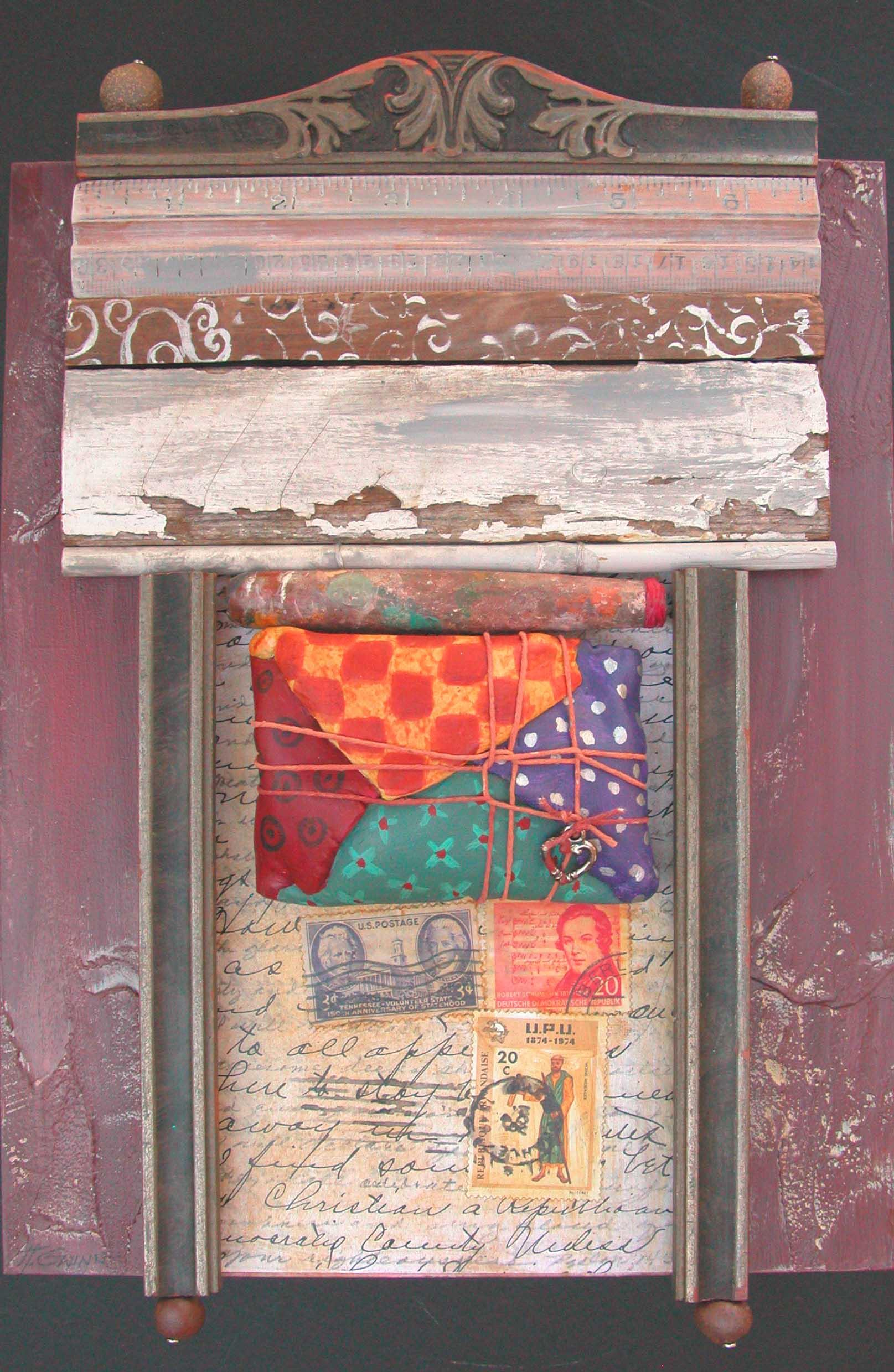 Assemblages Helen Gwinn New Mexico Artist