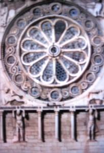 Spoleto Duomo: Rose Window