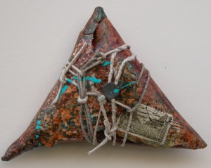 Clay Mail, Triangular Pouch